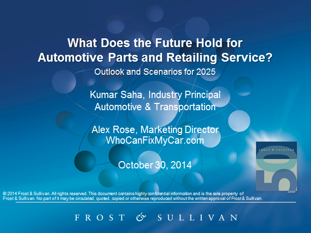 What Does the Future Hold for Automotive Parts Retailing & Service?