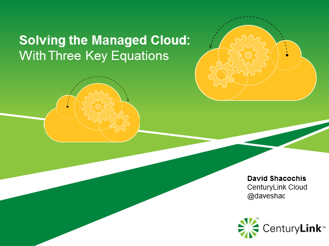 Utilising the Managed Cloud: Offloading vs. Outsourcing