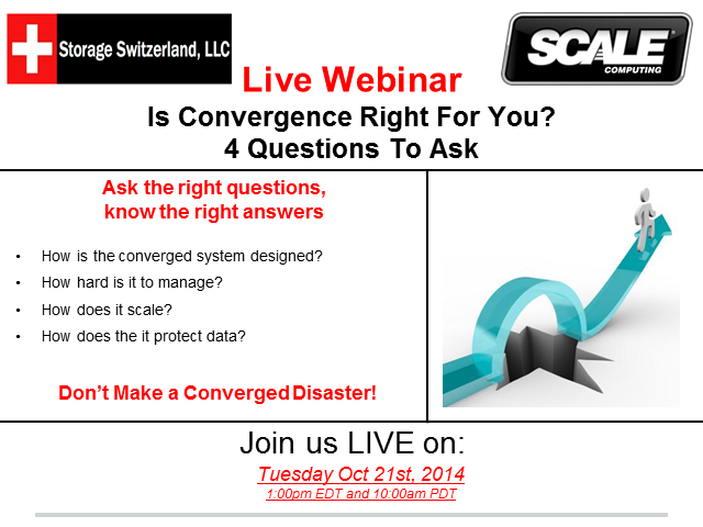 Is Convergence right for you? – 4 questions to ask