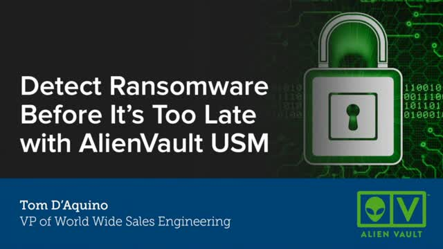 Detect Ransomware Before It's Too Late