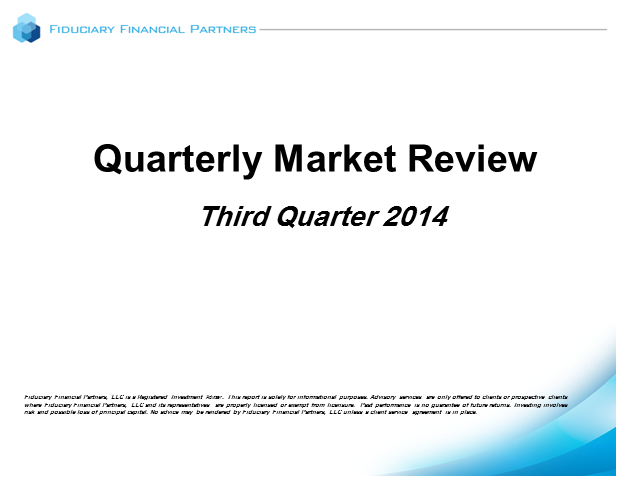 Q3 2014 Market Review