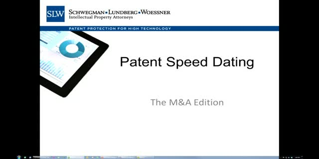 Patent Speed Dating: Quick sorting of patent portfolios in due diligence