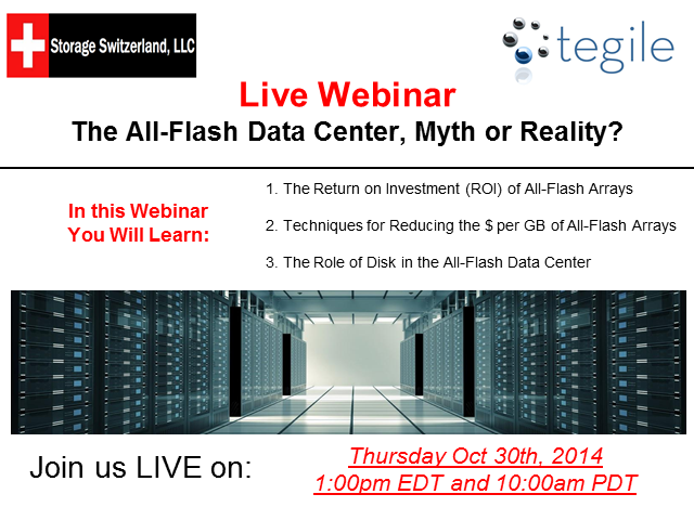 The All-Flash Data Center, Myth or Reality?