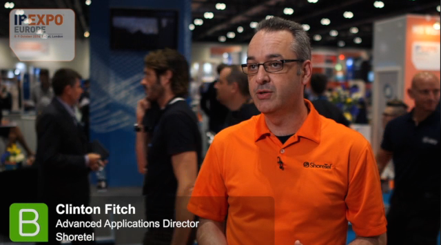 IP EXPO 2014 Clinton Fitch III, Shoretel