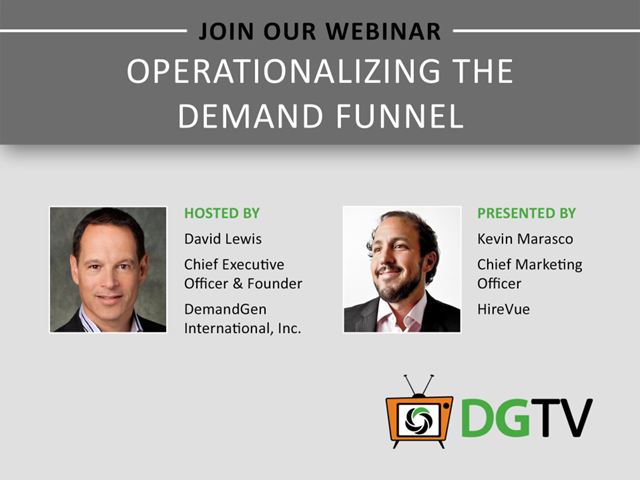 Operationalizing the Demand Funnel