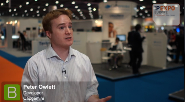 IP EXPO 2014, Peter Owlett, Capgemini