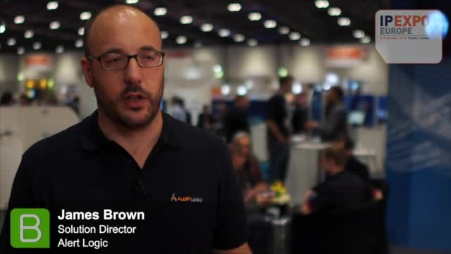 IP EXPO 2014 James Brown, Alert Logic