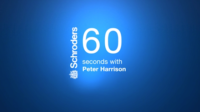 60 Seconds with Peter Harrison