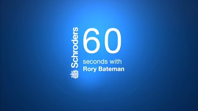 60 Seconds with Rory Bateman