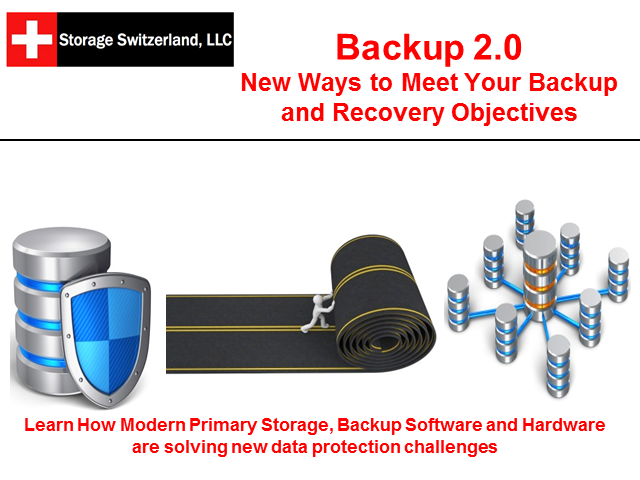 Beyond Backup - Can Backup Meet ALL your Service Level Objectives