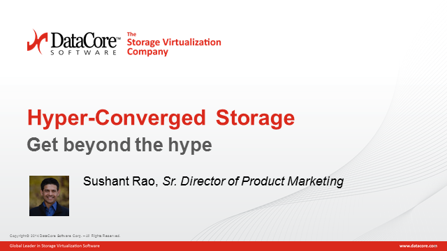 Hyper-converged: Get Beyond the Hype