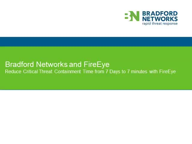 When Timing is Critical: Securing compromised endpoints in minutes with FireEye