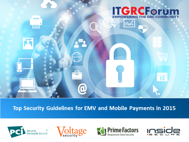Top Security Guidelines for EMV and Mobile Payments in 2015