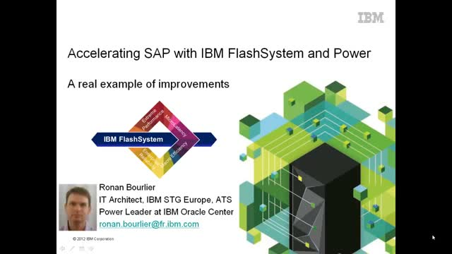 Accelerating SAP: Performance improvements with IBM FlashSystem and Power