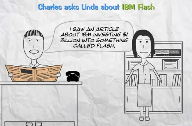 IBM FlashSystem for Charles, the CEO
