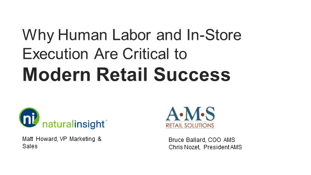 Why Human Labor and In-Store Execution Are Critical to Modern Retail Success