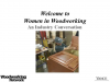 Women in Woodworking: A Conversation