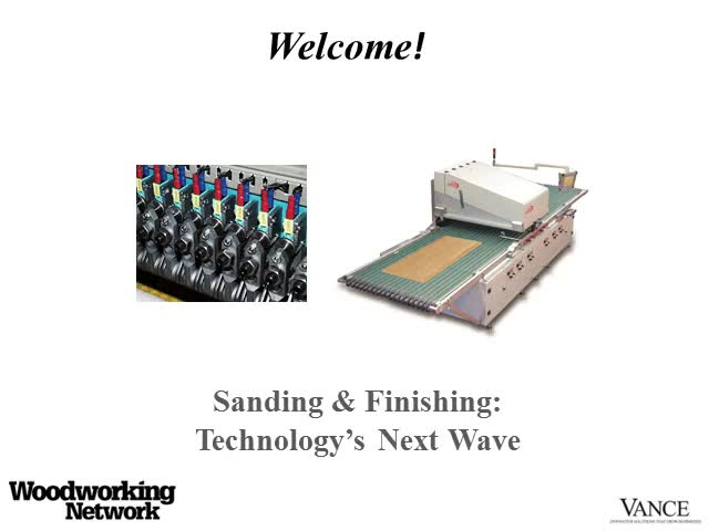 Sanding & Finishing: Technology's Next Wave