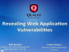 Revealing Web Application Vulnerabilities
