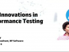 New innovations in Performance Testing technical webinar
