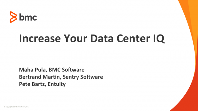 Increase Your Data Center IQ