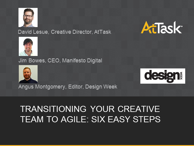 Transitioning Your Creative Team to Agile: Six Simple Steps