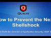 How to Prevent the Next Shellshock