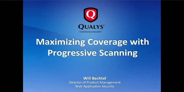 Maximizing Coverage with Progressive Scanning