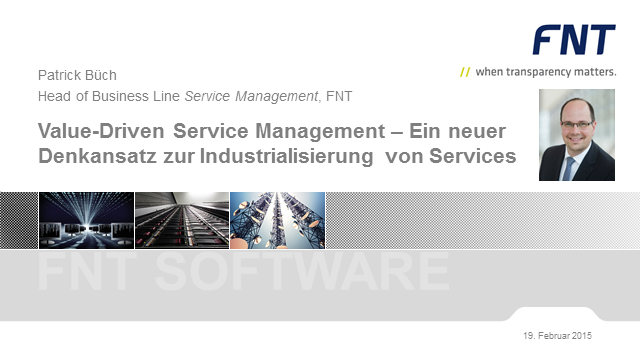 Value-Driven Service Management – Ein innovativer Denkansatz