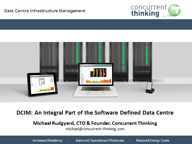 DCIM: an integral part of the Software Defined Data Centre