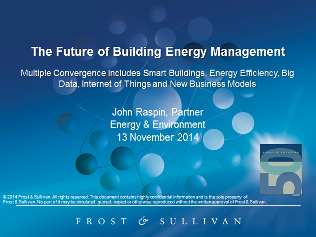 The Future of Energy Management in Buildings