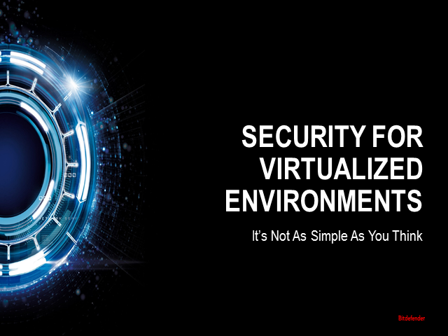 Security for Virtualized Environments: It's Not As Simple As You Think