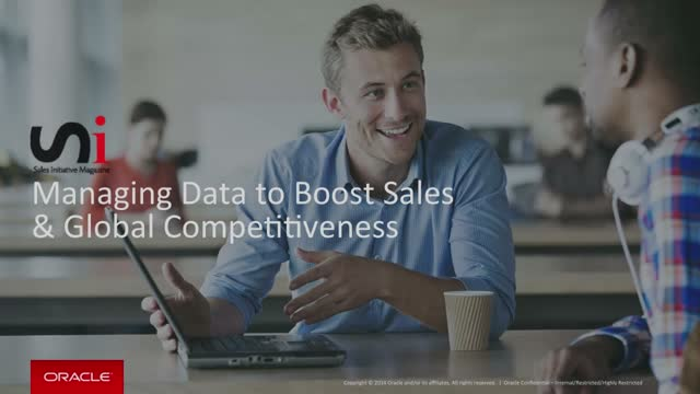 Managing Data to Boost Sales & Global Competitiveness