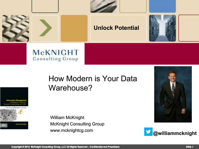 How Modern is Your Data Warehouse?