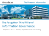 The Forgotten Third Pillar of Information Governance