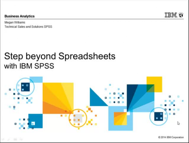 Step Beyond Spreadsheets