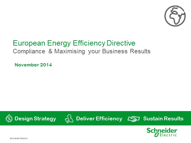 European Energy Efficiency Directive - Masterclass