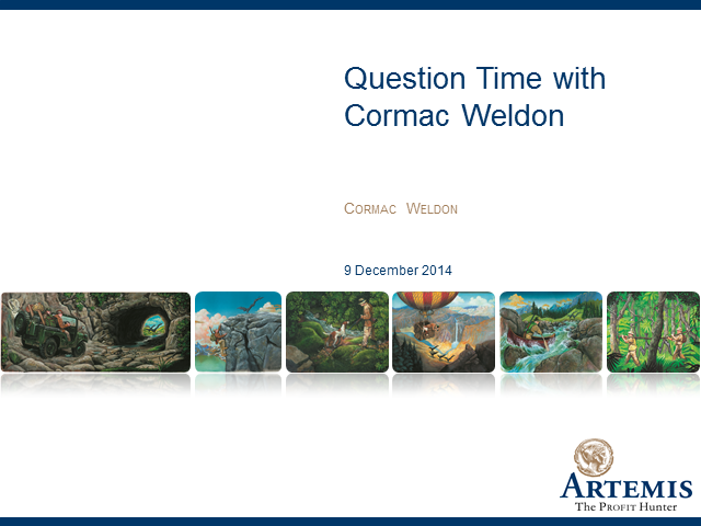 Question Time with Cormac Weldon