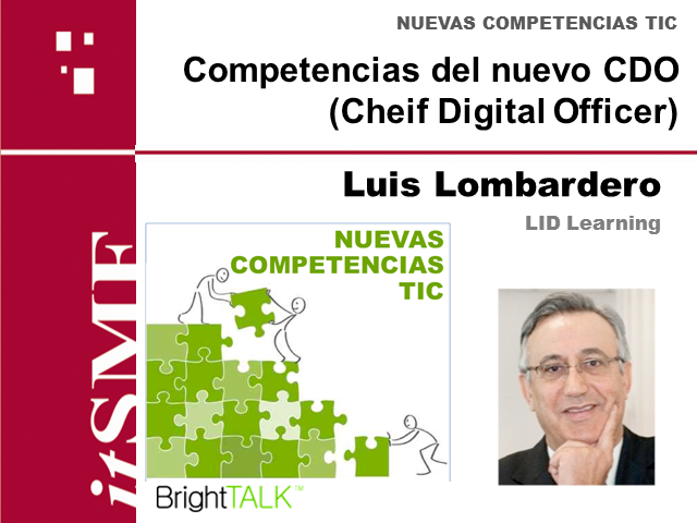 itSMFes: Competencias del nuevo CDO (Chief Digital Officer)
