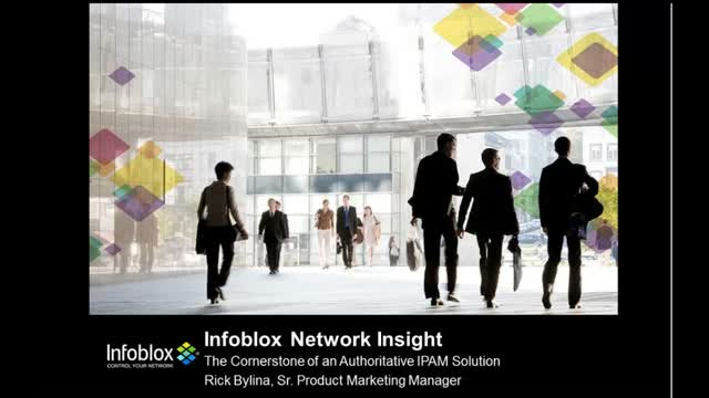 Infoblox Network Insight with Authoritative IPAM