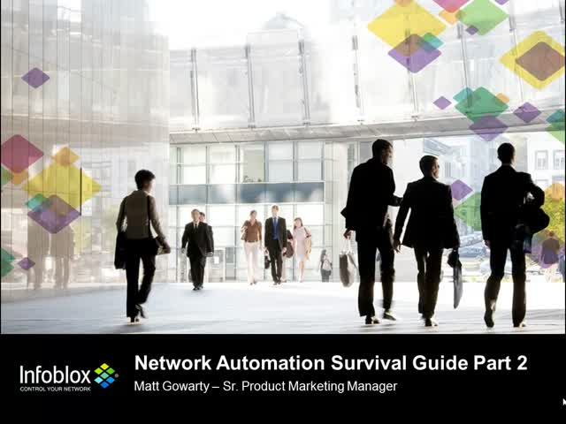 Network Automation Survival Guide Part 2