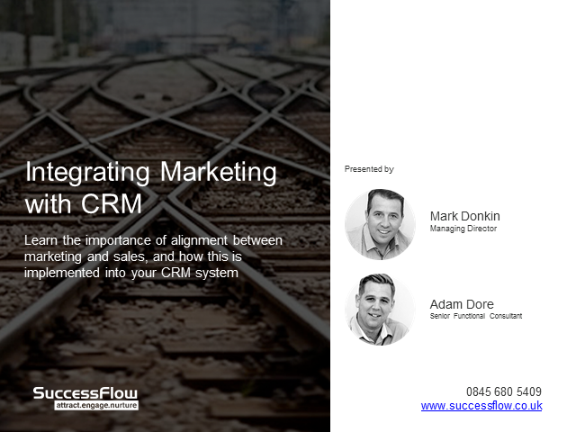 Integrating Marketing with CRM