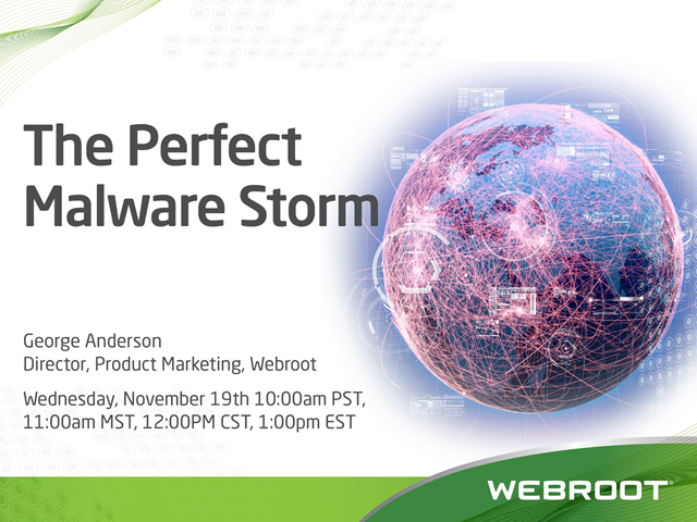2014 - The Perfect Malware Storm
