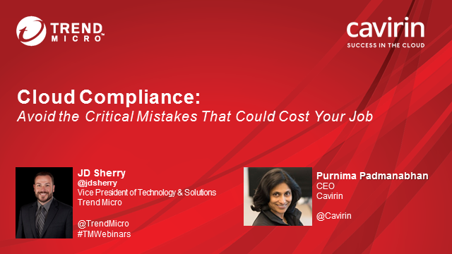 Cloud Compliance: Avoid the Critical Mistakes That Can Cost Your Job