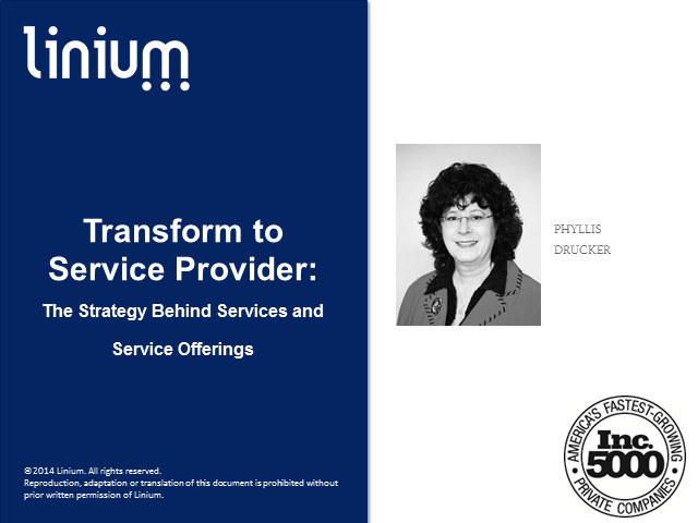 Transform to Service Provider: Strategy Behind Services and Service Offerings