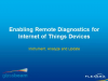 Enabling Remote Diagnostics for IoT Devices