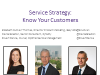 Service Strategy: Know Your Customers