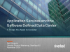 Application Services and the SDDC: 5 Things You Need to Consider