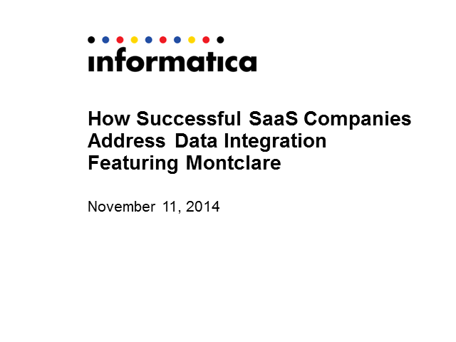 How Successful SaaS Companies Address Data Integration