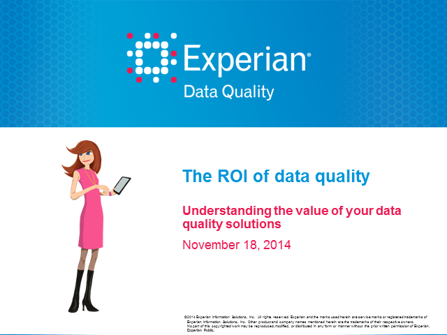 Solving the mystery: Tips for measuring ROI on your data quality tools